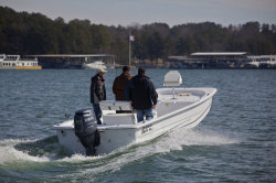 2012 - Carolina Skiff - 2590 DLX EW Hull Only