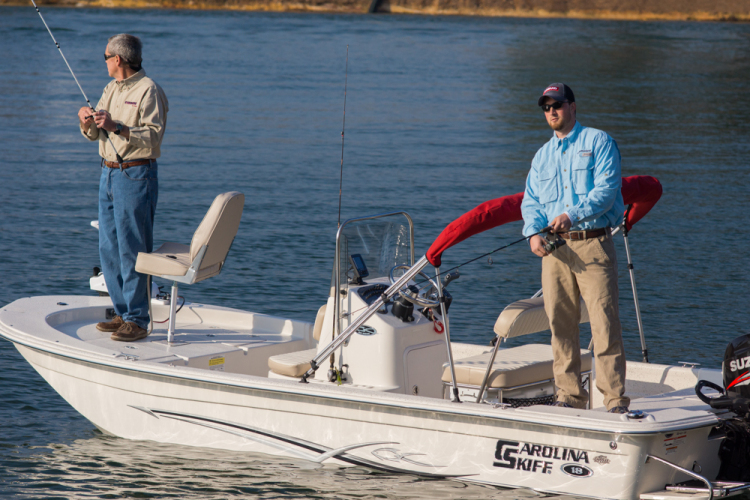 Research 2013 carolina skiff jvx 16 center console on for 16 foot aluminum boat motor size