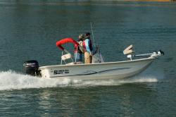 Carolina Skiff - JVX 16 Stick Steering