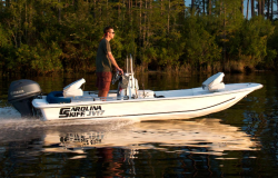 2015 - Carolina Skiff - JV 13 Stick Steering
