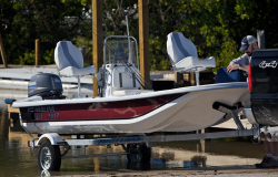 2015 - Carolina Skiff - JV 15 Tiller Handle