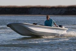 2018 - Carolina Skiff - JV 17 Tiller Handle