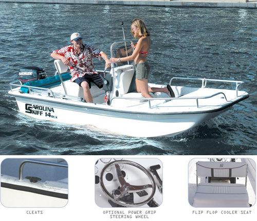 Research Carolina Skiff DLX 1455 on iboats com