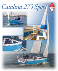 2018 - Catalina Sailboats - Catalina 275 Sport