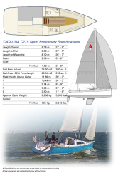 2020 - Catalina Sailboats - Catalina 275 Sport