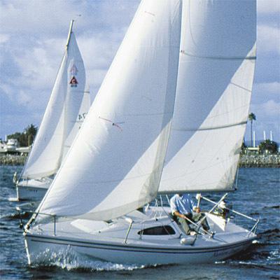 Research Catalina Sailboats Capri 22 Fin Keel Mega Yacht