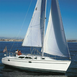 Catalina Sailboats 310 Fin Keel Mega Yacht Sailboat Boat
