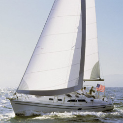 Catalina Sailboats 350 Wing Keel Cruising Sailboat Boat