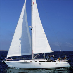 Catalina Sailboats 42 MKII Center Line Berth Wing Keel Sailboa
