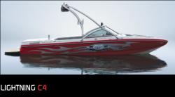 Centurion Boats Lightning C4 Ski and Wakeboard Boat