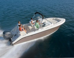 Century Boats - 2350 Dual Console