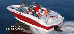 2013 - Chaparral Boats - 18 Sport