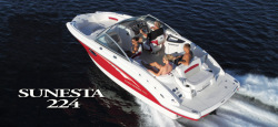 2013 - Chaparral Boats - 224 Sunesta