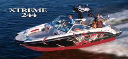2013 - Chaparral Boats - 244 Extreme
