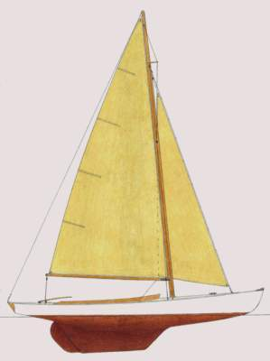 Research Chip Boats Stuart Knockabout 28 Sailboat on ...