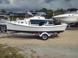 2000 Crab Skiff Flats Boat Nokomis FL