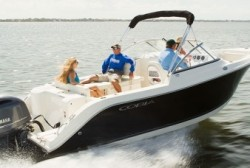2016 - Cobia Boats - 220 Dual Console