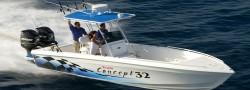 Concept Boats 32 FE Open Fish Center Console Boat