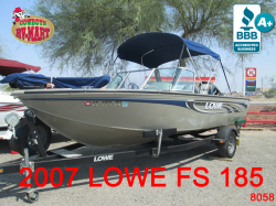 2007 - Lowe Boats - FS185