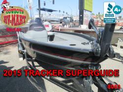 2015 - Tracker Boats - Super Guide V-16 SC