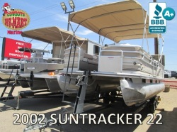2002 Suntracker Party Barge 22