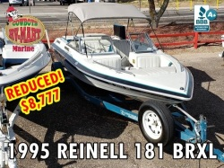 1995 Reinell 181 BRXL New Upholstery!