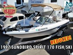 1997 Sunbird Fish/Ski, Casting Stool+Trolling Motor!