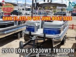 2019 SS230WT Tritoon HOT JUNE SALE