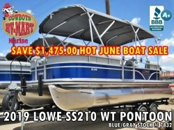 2019 LOWE SS210 Pontoon HOT JUNE SALE