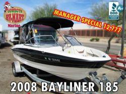 2008 Bayliner 185 NEW CARPET!