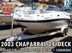 2003 Chaparral Sunesta, 2 Swim Decks!