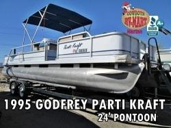 Godfrey Parti Kraft 24' Pontoon