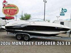 2006 - Monterey Boats - 263 EX