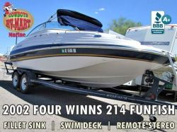 2002 Four Winns 214 Fun Fish FunShip