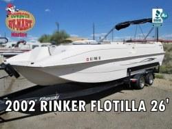 2002 Rinker Flotilla 26' 350 MAG MPI