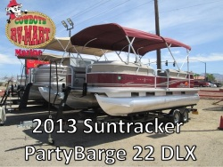 2013 - Sun Tracker - Party Barge 22 DLX