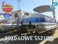 2020 SS210W TRITOON BLUE/GRAY