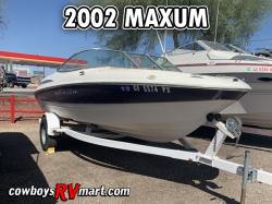 2002 - Maxum Boats - 1900 SR
