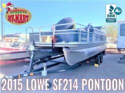 2015 - Lowe Boats - SF214 Sport Fish
