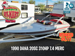 1990 Dana 20' Trophy 310 HP