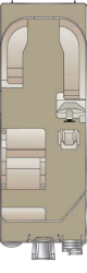 2020 - Crest Pontoon Boats - Crest I 220 SLRD