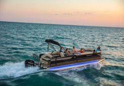 2020 - Crest Pontoon Boats - Classic 250 SLC