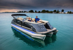 2020 - Crest Pontoon Boats - Savannah 250 SLR2