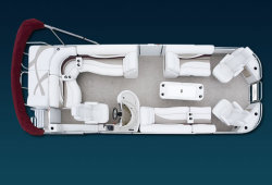 2009 - Crest Pontoon Boats - 22 Savannah LSTX