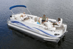 2009 - Crest Pontoon Boats - 25 Savannah LSTX