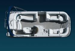 2009 - Crest Pontoon Boats - 22 Savannah LS  LST