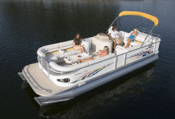 2009 - Crest Pontoon Boats - 25 Caribbean