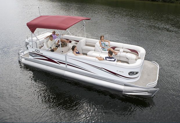 Crest Pontoon Boats >> Research 2009 - Crest Pontoon Boats - 25 Crest III Classic on iboats.com