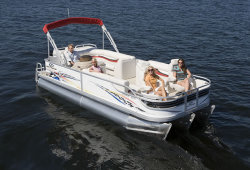 2009 - Crest Pontoon Boats - 22 Crest II XRS