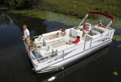 2009 - Crest Pontoon Boats - 25 Crest II XRS